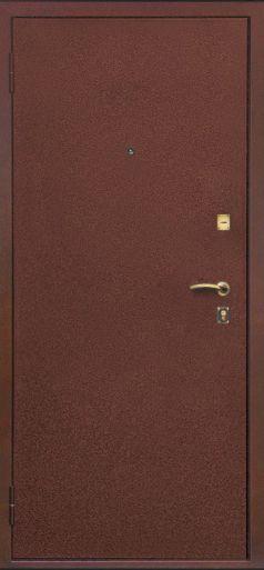 железные двери оптима